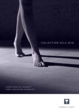 Collection sols 2018: un sol unique en pierre bleue belge