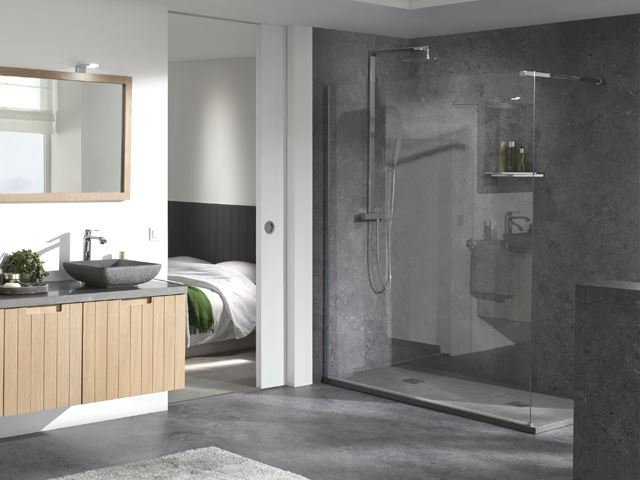 salle de bain compacte best creazur meuble salle de bain. Black Bedroom Furniture Sets. Home Design Ideas