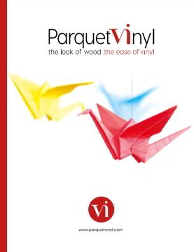 ParquetVinyl - the look of wood, the ease of vinyl
